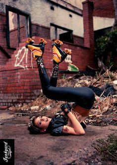 Junkyard #Rollerskates