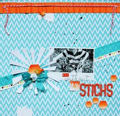 Thansk for pinning me: She is so talented...Lilith's scrapbooking venture