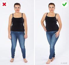 11трюков, скоторыми девушка пышных форм будет выглядеть нафото по-голливудски