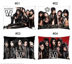 Black Veil Brides BVB Pillow Case Cover Bedding by stopandservay