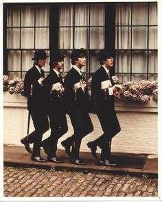 "The Beatles - Taken for a ""Saturday Evening Post"" story"