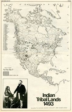 Map: Indian Tribal Lands 1493 deadend-source link is dead Native American Map, American Art, American Quotes, American Symbols, American Women, Indian Tribes, Native Indian, Danse Country, By Any Means Necessary