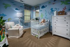Room for baby! Don't you love this nursery?