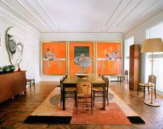 Terry de Gunzburg Manhattan Apartment by Jacques Grange |
