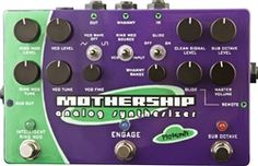 A Music Canada Pigtronix Mothership Analog Guitar Synthesizer Guitar Effects Pedals, Guitar Pedals, Gibson Epiphone, Guitar Shop, Online Music Stores, Pedalboard, Musical Instruments, Guitars, Gazpacho