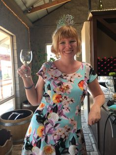 The happy birthday girl! When it's your birthday in Amador County you get complimentary tastings at all the wineries! #hofsashouse #californiawinemonth