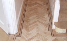 double border for wood floors