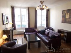 Nice spacious three-bedroom Paris flat in the 1st arrondissement