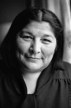 Haydée Mercedes Sosa (1935-2009), known as La Negra - Argentine singer
