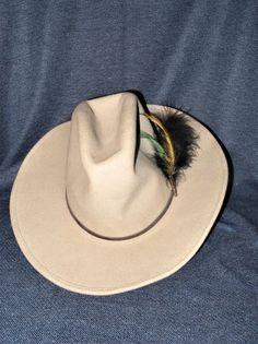 cc4d729540f6d Vintage Sheplers by Bailey Western Wichita Men s Small 4X Tan Wool Cowboy  Hat  SheplersbyBailey