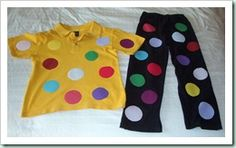 Another great example of customising clothing for Children in Need!