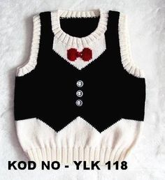 Hand Knitted Baby Boy Sweater Unique Vest Design by YarnsInMotion Baby Knitting Patterns, Knitting Designs, Baby Patterns, Crochet For Boys, Knitting For Kids, Crochet Baby, Hand Knitting, Knitted Baby, Knitting Needles