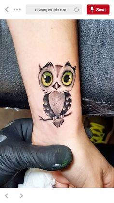 Fotos E Imagens De Tatuagem De Coruja Feminina Atualizado Bone