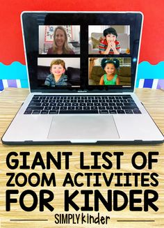 Zoom Activities for Kinder - Simply Kinder