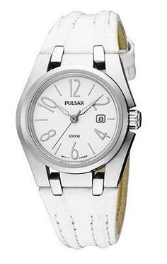 Women's Wrist Watches - Pulsars Ladies Leather Strap Collection watch PXT663 * Details can be found by clicking on the image. (This is an Amazon affiliate link)