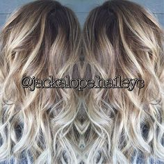 lowlights to reverse balayage - Google Search