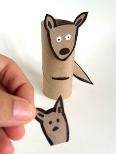 Toilet paper roll kid crafts