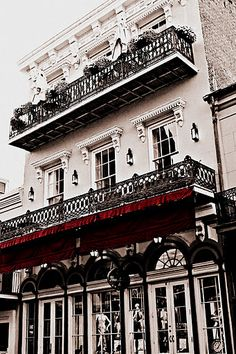 I want to dance down the street to the jazz music someday. And the architecture is just so beautiful. New Orleans