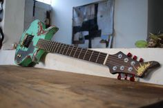 Distorted Branch Guitars -MEXICO Guitars, Mexico, Music Instruments, Musical Instruments, Guitar