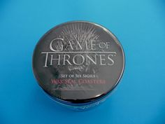 ##Check out Game of Thrones - Set of 6 Wax Seal Coasters ( Brand New & Sealed Tin ) #thinkgeek https://www.ebay.com.au/itm/162733832734?roken=cUgayN&soutkn=3a07ez via @eBay fantastic Christmas Present Brand New Item Only $22.50