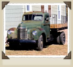 Old International Trucks | classic international harvester truck one of many vintage trucks seen ...