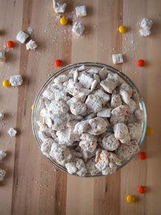 Triple Peanut Butter Puppy Chow No bake treat that's addictively good!
