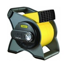 Blower Floor Fan Pivoting Utility Multi Purpose Dry Out Basement Move Air  #Stanley