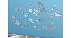 Mirror Shooting Stars Decal Set... for nursery