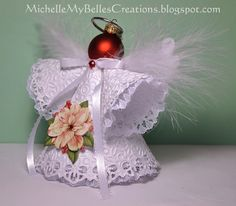 Angel ornament side view