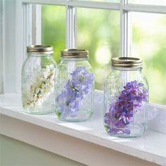 Mason Jars by Window by Deborah Dolen   Mother's Day Gift Idea