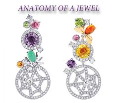 """Chaumet """"Attrape-Moi Si Tu M'aime"""" collections in white gold, diamonds and gemstones"""