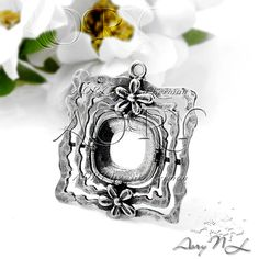 1pcs Rich 925 Sterling Silver Pendant Setting Gallery by AoryNL