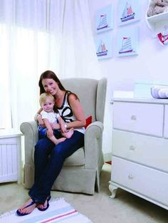 Photo's taken by: Emielke Stylist: Joanita Cillie  For more about this theme, visit yourparenting.co.za Nautical Nursery, Nursery Decor, Get Baby, Breastfeeding, Kids Room, Room Kids, Baby Feeding, Breast Feeding, Child Room
