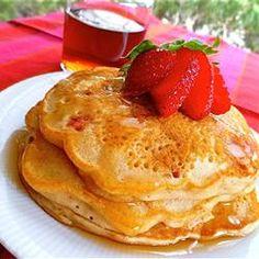 Strawberry Vanilla #Pancakes