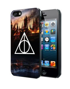 Harry Potter Deathly Hallows Samsung Galaxy S3/ S4 case, iPhone 4/4S / 5/ 5s/ 5c case, iPod Touch 4 / 5 case