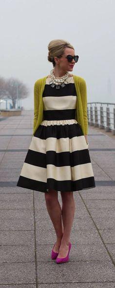 Gorgeous Kate Spade Striped Dress