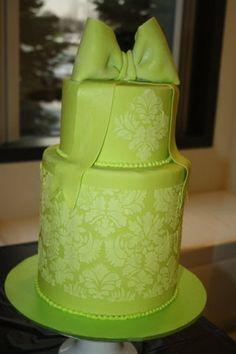 damask cake  Cake by Rostaty