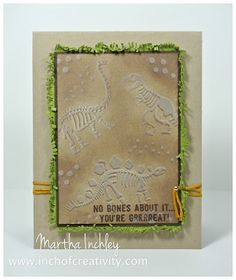 Inch of Creativity: My Absolute Must Have! Stampin' Up! No Bones About It.