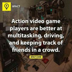 Gamers and mutitasking
