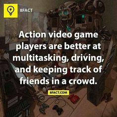 Gamers and mutitasking