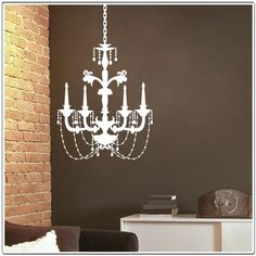 Chandelier Wall Decal $35