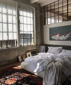 #SundaySanctuary: Waking up here 🦋  Image by Olja Ryz  Tap the link in bio to go inside the homes of celebrated architects, designers,…