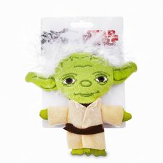 STAR WARS Big Head Yoda Cat Toy, 4' L X 4' W -- Check this awesome image  (This is an amazon affiliate link. I may earn commission from it)
