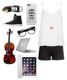 """""""The 4th Period Rush"""" by its-sarah02 ❤ liked on Polyvore featuring H&M, Converse, River Island, Retrò, Aéropostale, Casetify and Speck"""