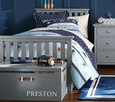 Will make a look alike bed with storage for a quarter of the price!! Elliott Bed #pbkids