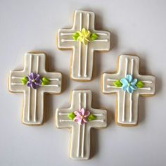 Cross Shaped Cookies for Easter   Lily's Cookies