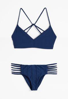 Deb Bikini Top + Shifty Sherman Bikini Pant in Salute #boysandarrows