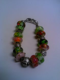 Spring is here bracelet. #trollbeads #shopsmall http://www.bloomingboutiquebeads.com/customer-designs.html
