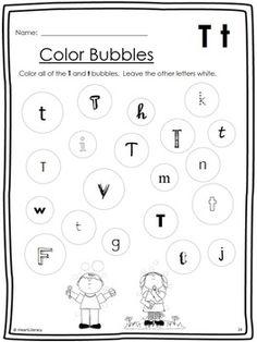 best letter t images  letter t worksheets preschool activities  letter of the week t no prep