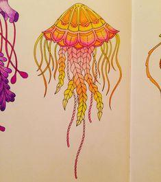 Lost ocean - Johanna Basford - Inspiration